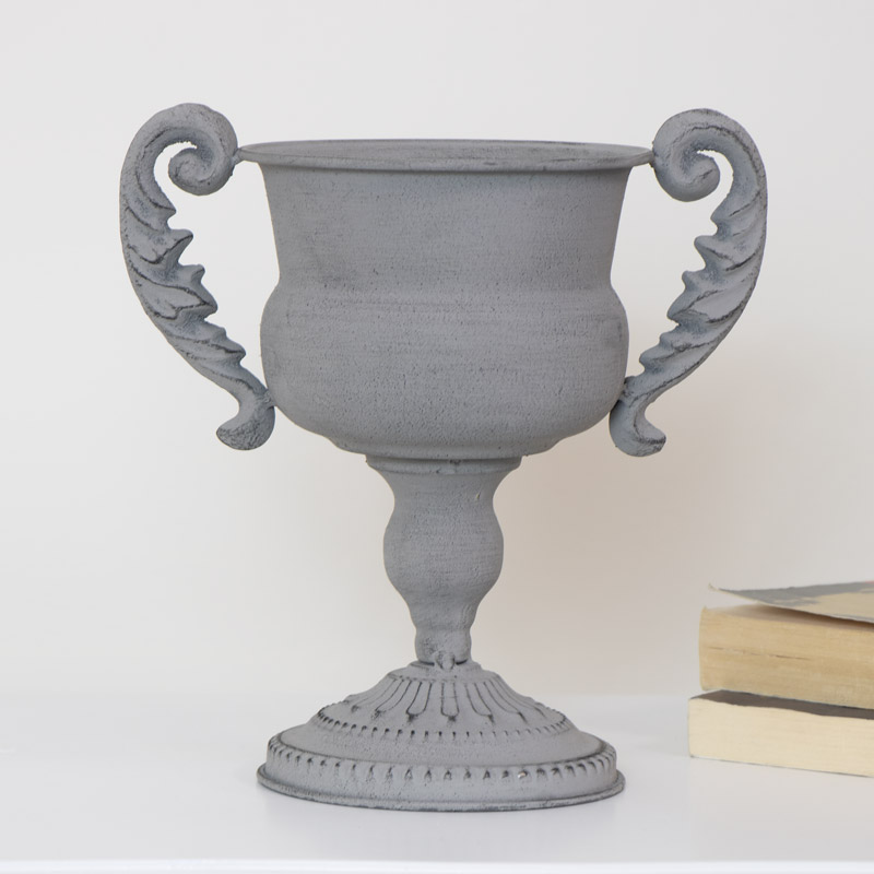 Grey Decorative Urn