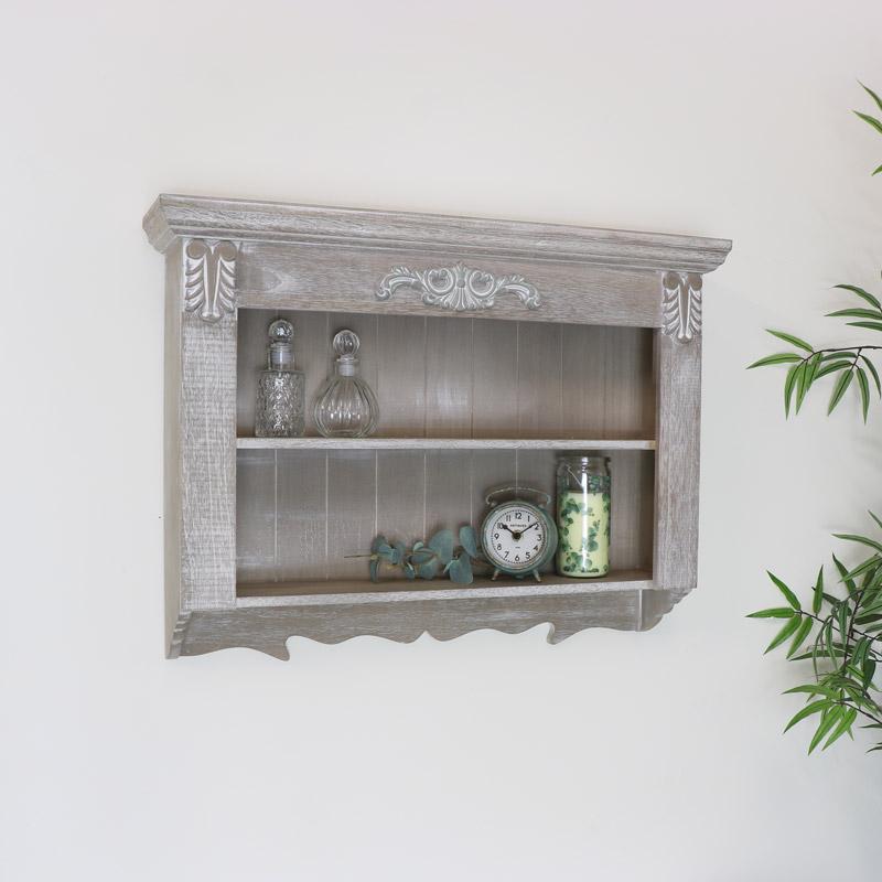 Wooden Wall Shelves - Temperley Range