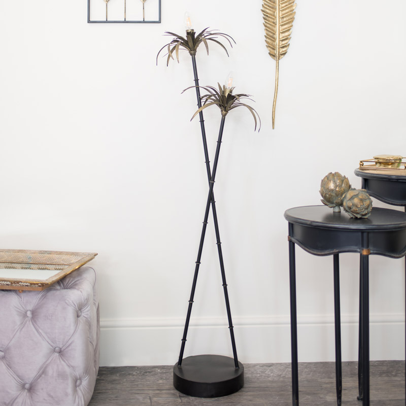 Tropical Palm Tree Floor Lamp