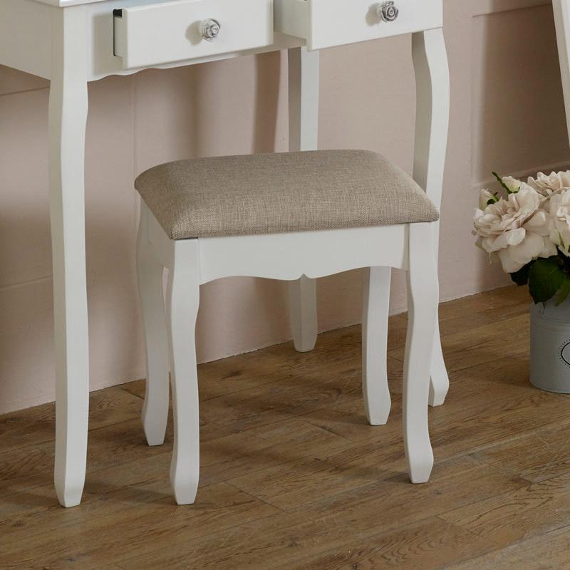 Lila Range - Dressing Table Padded Stool