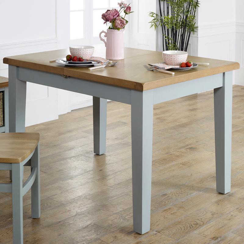 Grey Extending Dining Table - Rochford Range