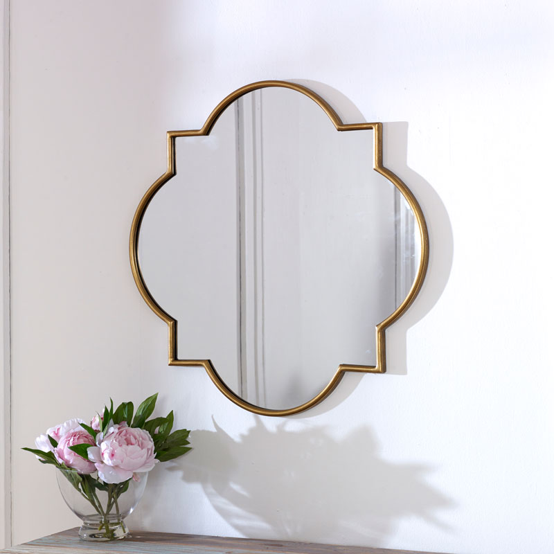 Gold Wall Mirror 70cm x 70cm