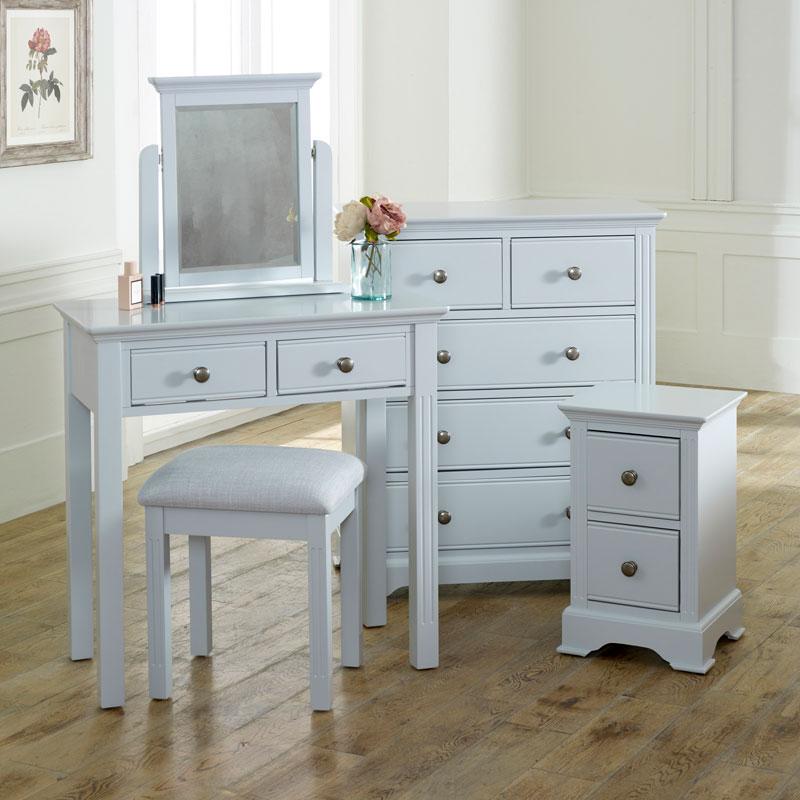 Grey Bedroom Furniture Set - Davenport Grey Range