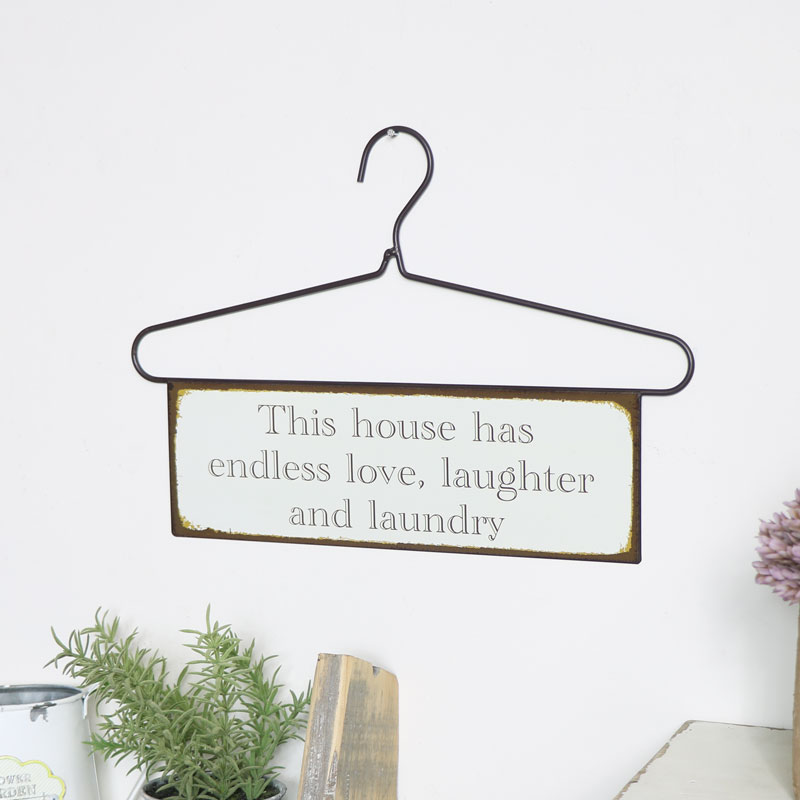 Hanger Wall Plaque -