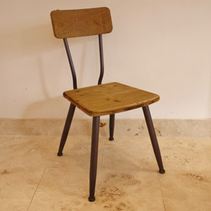 Retro Range - Metal/Wood Chair