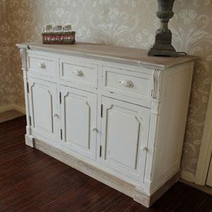 Lyon Range - Cream Long Buffet/Sideboard