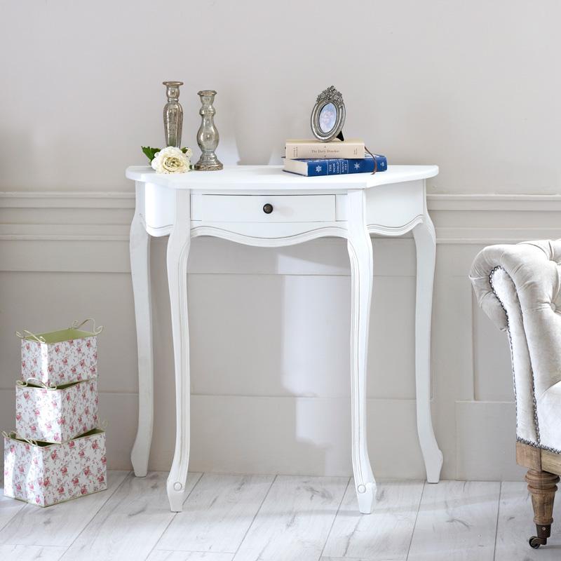 Classic White Range - Half Moon Table