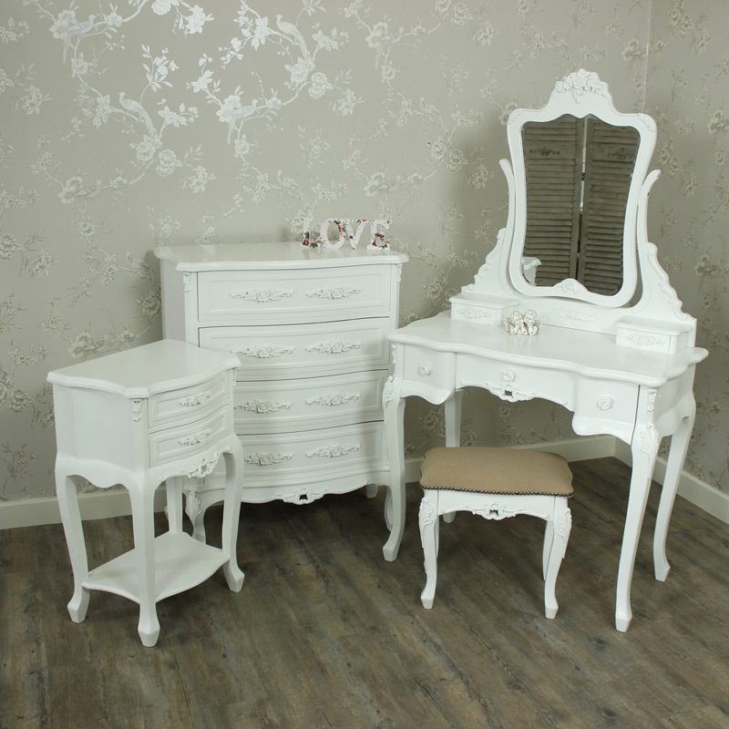 5 Piece Bedroom Furniture Set - Rose Range