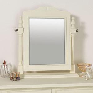 Cream Dressing Table Swing Mirror - Elise Cream Range