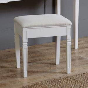 Lyon Range - Cream Padded Stool