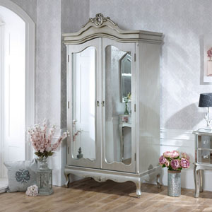 Tiffany Range - Mirrored Double Wardrobe