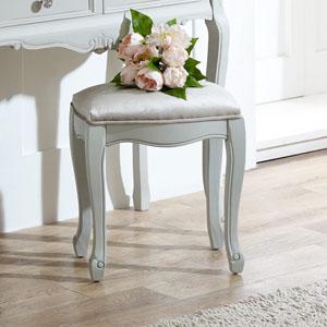 Elise Grey Range - Dressing Table Stool