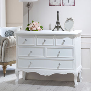 6 Drawer Chest - Elise White Range