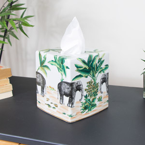 Elephant Tissue Box