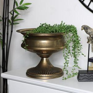 Large Vintage Bronze Urn