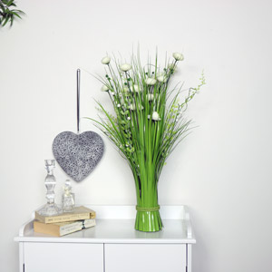 White Ranunculus Floral Bouquet