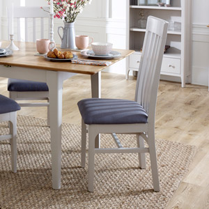 Grey Dining Chair - Devon Range