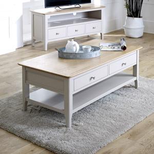 Large Grey Coffee Table - Devon Range