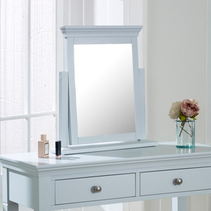 Grey Dressing Table Vanity Mirror - Newbury Grey Range