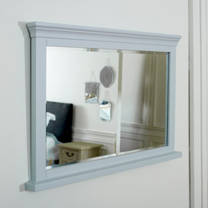 Grey Wall Mirror - Newbury Grey Range 100cm x 60cm
