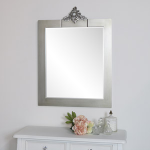 Antique Silver Vintage Wall Mirror - Tiffany Range