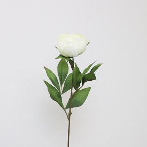 Faux Ivory Peony Rose