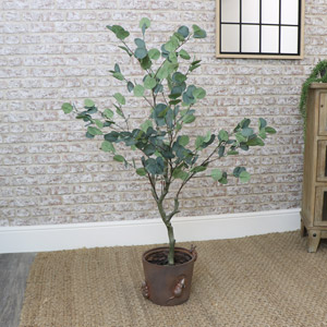 Large Faux Eucalyptus Tree