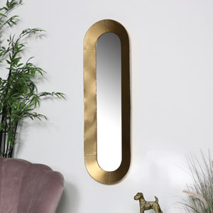 Tall Bronze Wall Mirror