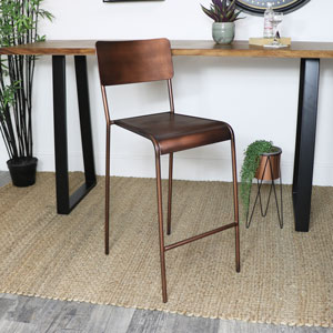 Copper Bar Stool
