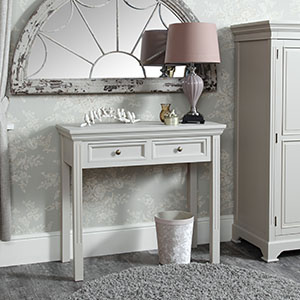 Grey Console/Dressing Table - Daventry Taupe-Grey Range