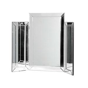 Mirrored Triple Dressing Table Mirror