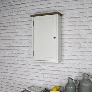 Ivory Wooden Wall Cabinet - Stockholm Range