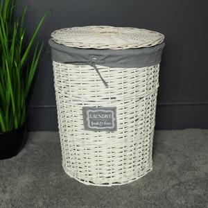 Large Willow Wicker Basket Laundry Hamper