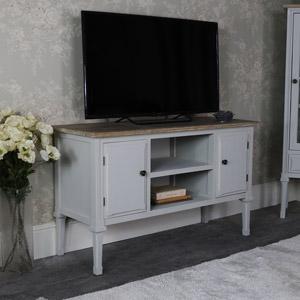 Large Grey TV/Media Cabinet - Stanford Range
