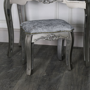 Tiffany Range - Mirrored Dressing Table Stool
