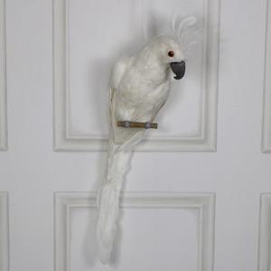 Large White Hanging Cockatoo