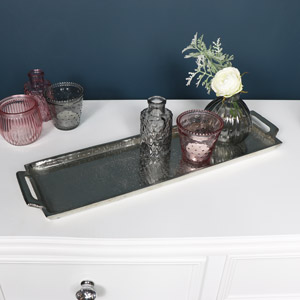 Silver Trinket / Candle Display Tray