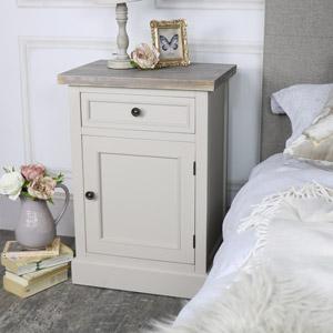Bedside Storage Cabinet - Cotswold Range