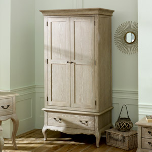 French Style Double Armoire Wardrobe - Brigitte Range