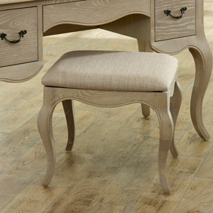 French Style Dressing Table Stool - Brigitte Range