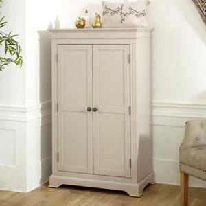 Linen Closet / Small Wardrobe - Davenport Taupe-Grey Range