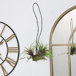 Faux Mixed Tillandsia Hanging Plant