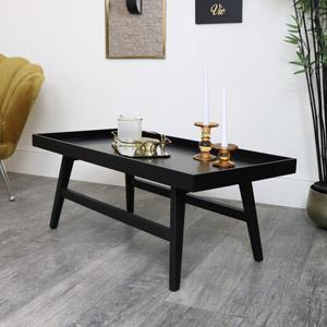 Rectangle Black Coffee Table
