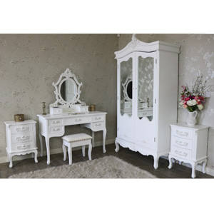 6 Piece Bedroom Furniture Set - Pays Blanc Range
