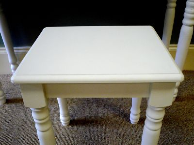 Blanche Range - White Dressing Table Stool