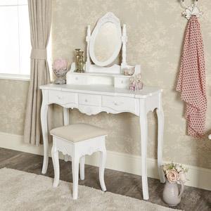 White Dressing Table Set - Jolie Range