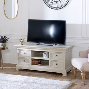 Large TV/Media Cabinet – Daventry Taupe-Grey Range
