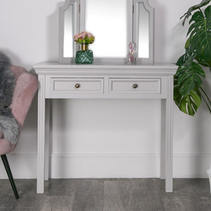 Console/Dressing Table - Daventry Dove-Grey Range