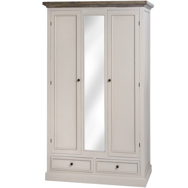 Cotswold Range - 2 Drawer 2 Door Wardrobe