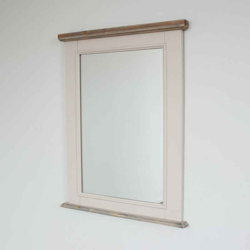 Portrait Style Wall Mirror - Cotswold Range 65cm x 82cm